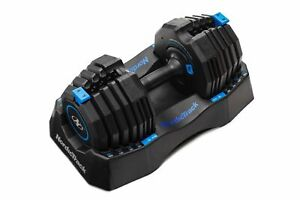 SINGLE NordicTrack Select-A-Weight 55 Lb Speed Weight Dumbbell (55 pounds total)
