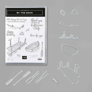 Stampin' Up! By the Dock stamp set with matching Dockside dies - Retired - NIP