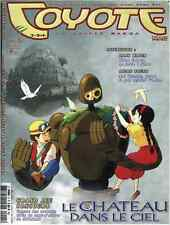 Revue COYOTE MAG numéro 5 MAGAZINE MANGA Yoko Player Okaz Fevrier 2003 Epuisé !