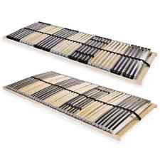 vidaXL Lattenrost mit 42 Latten 7 Zonen Lattenrahmen Bettrost mehrere Auswahl