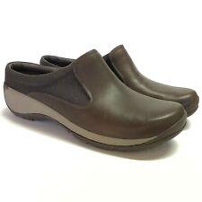 NEW Merrell Encore Q2 Slide Mesh Women 7.5 38 Clogs Shoes Brown Leather