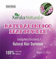 NATURAL INDIGO POWDER 100% ORGANIC AND NATURAL WAY OF COLORING HAIR 200 GM