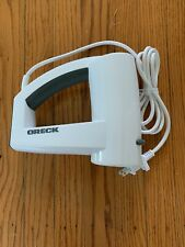 (PL) Oreck Vertical Hand Mixer 5 Speed White Free US Shipping
