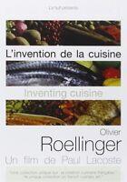 L'INVENTION DE LA CUISINE : OLIVIER ROELLINGER - DVD