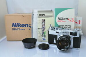 Nikon S3 Year 2000 Limited Edition w/50mm 1.4 lens, USA Seller