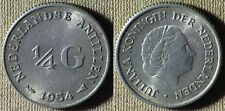 Netherlands Antillen :1954 1/4 G CH.AU   IR6157