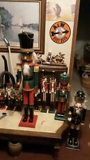 Vintage 3 Foot Nutcracker Real Nice Heavy Wood!