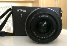 Nikon J1 Digital Camera, Black. Used Condition.