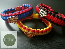 Superman paracord bracelet