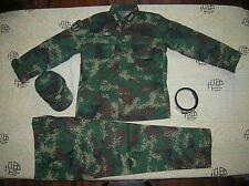 07's series China PLA 2nd Artillery Officer Digital Camo Combat Clothing,Set