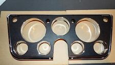 1969 1970-70 1971 71-1972-72 CHEVROLET  Truck Quality Dash Bezel w/ Chrome Trim