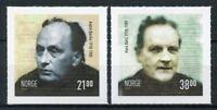 Norway 2018 MNH Andre Bjerke Hans Borli 2v S/A Set Famous People Stamps