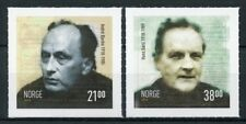 Norway 2018 MNH Andre Bjerke Hans Borli 2v S/A Set Famous People Stamps