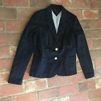 Tommy Hilfiger Women's Size Medium Navy Blue Jacket Blazer