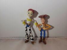 """Disney Pixar Toy Story Cowgirl Western Jessie Woody Sheriff Figures 3.5"""" - 4.25"""""""