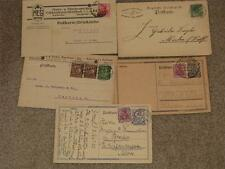 Germany-Lot of 5 Different Postal Cards-Some Advertising, Etc.