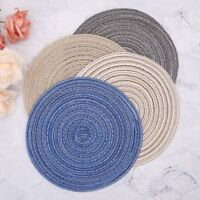 Round Circle Placemats Table Place Mats Heat Kitchen Dinner Table Heat Pads 18CM