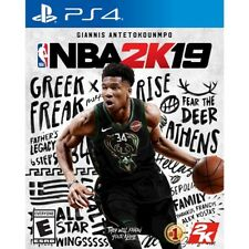 NEW! NBA 2K19 (Playstation 4, PS4) Factory Sealed! PRESALE SHIPS 11/26 FREE SHIP