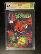 Spawn 1 cgc 9.6 signed By Todd McFarland