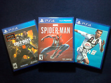 Fifa 19, Call of Duty Black Ops 4 & Marvel Spider-Man