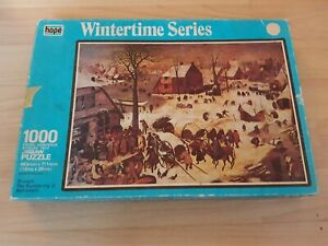Jigsaw - Wintertime Series - Bruegel - Bethlehem - 1000 Piece - Hope