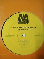 Slim Smith ‎– The Late And Great Slim Smith - Vinyl LP