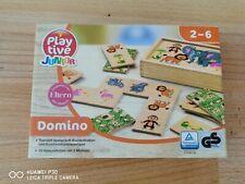 Domino Original verpackt NEU ab 2 Jahre - Playtive Tiere anlegen