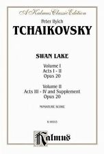 Swan Lake, Op. 20, Complete Ballet: Miniature Score, Comb Bound Miniature Score by Alfred Publishing Co., Inc. (Paperback / softback, 1985)