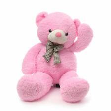 Pink Big Teddy Bear Stuffed Animals Plush Toy for Girlfriend Children 39 inch