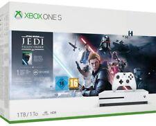 CONSOLE XBOX ONE S CONSOLE 1TB BIANCO NUOVO 4K HDR Jedi Star Wars Fallen Order