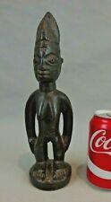 ancienne statuette statue bois sculpté YORUBA IBEDJI art africain african art