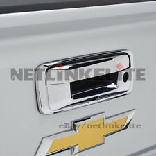 Fit for 2015 2016 2017 Chevy Silverado / GMC Sierra Chrome Tailgate Handle Cover