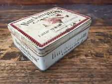Vtg Philip Morris Buckingham Fifty Cigarettes Tobacco Hinged Tin Package Canada