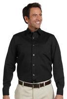Ashworth Men's Performance Adjustable Cuff Long Sleeve Woven Dress Shirt. 7004