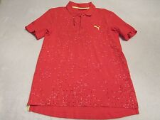 MENS PUMA VOLVO OCEAN RACE ROUND THE WORLD POLO SHIRT SIZE SMALL GREAT SHAPE