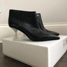 Celine Crystal Heel Ankle boots