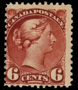 #43 Small Queen 6c Canada mint