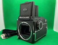 [Exc+5] Mamiya M645 Medium Format Camera Body w/ Waist Level Finder From JAPAN
