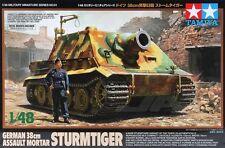 Tamiya 32591 1/48 Scale Model Kit WWII German Sturmtiger 38cm Assault Mortar Gun