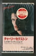 Sealed CHARLIE SEXTON Mixed Impressions JAPAN CASSETTE PKF-1043 w/PROMO STICKER