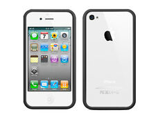 Black Bumper Case w Full Body Protector for iPhone 4 4G