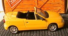 RENAULT MEGANE CABRIOLET 1999 NOREV JAUNE 1/43 YELLOW ROADSTER HACHETTE YELLOW
