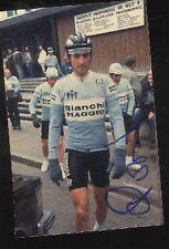 ALESSANDRO POZZI Bianchi Piaggio Photo Signée cyclisme ciclismo Flèche wallonne