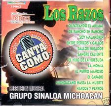 Canta Como Los Razos  Pista Karaoke   BRAND NEW SEALED CD