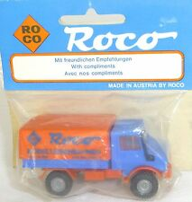 Unimog Exhibition Model Promo Roco OVP H0 1/87 # Å
