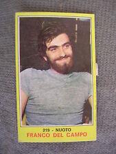 FIGURINA PANINI CAMPIONI DELLO SPORT 1970/71 # 219 - FRANCO DEL CAMPO