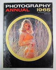 PHOTOGRAPHY ANNUAL 1965 International edition New York Ziff Davis