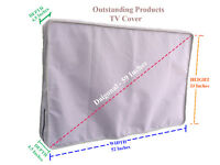 """Outdoor Line Weatherproof TV Cover - Gray For Samsung 55"""" LED Curved Ultra HDTV"""