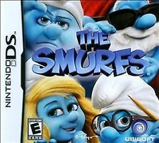 NINTENDO DS THE SMURFS VIDEO GAME   *NEW*