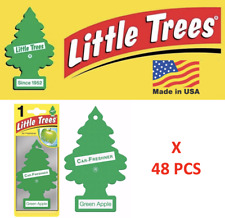 Green Apple Little Trees Freshener  Air Tree 10316 MADE IN USA Pack of 48